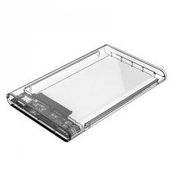 ORICO KIESZEŃ HDD 2,5 SATA USB-3.0 Typ-C PRZEZROCZYSTA