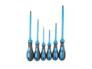 Zestaw narzędzi Lanberg NT-0801 śrubokręty krzyżakowe z magnesem 6 sztuk