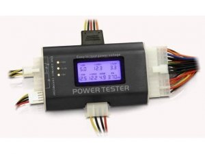 Tester Delock zasilaczy Komp. ATX (LCD)