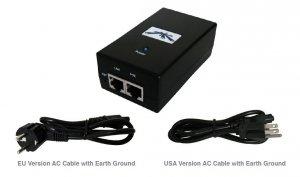 Zasilacz UBIQUITI Passive PoE 48V 24W 0.5A Gigabit