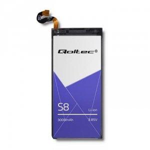 Bateria Qoltec do Samsung S8 | 3000mAh