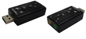 Karta dźwiękowa USB 7.1 Savio AK-01