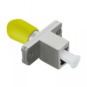 Adapter światłowodowy hybrydowy Qoltec LC/UPC-ST/UPC simplex SingleMode