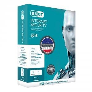 Oprogramowanie ESET Internet Security BOX 5U 36M