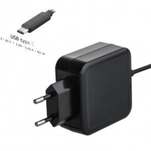 Zasilacz sieciowy Akyga AK-ND-70 do notebooka 20V/3 - 3,25A 65W USB type C