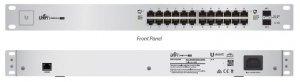Switch zarządzalny UBIQUITI UniFiSwitch 24x100/1000 2xSFP PoE+ 500W
