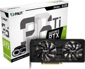 Palit GeForce RTX 3060 Ti Dual OC 8G 8GB GDDR6 256bit LHR
