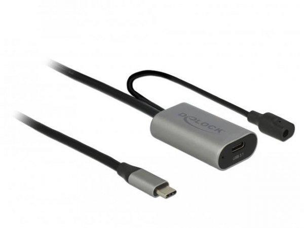 Przedłużacz USB 3.1 Delock C(M) - C(F) 5m czarny