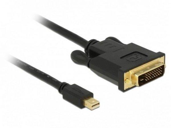 Kabel adapter Delock mini DisplayPort -> DVI-D M/M 2m czarny