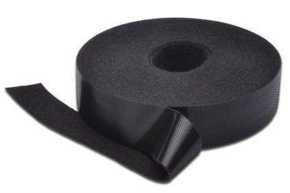 Taśma rzepowa DIGITUS DA-CT4001-IMP 10m/19mm (rolka) czarna