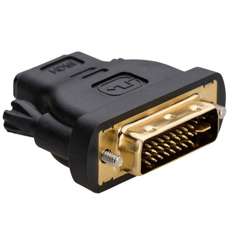 Adapter Akyga AK-AD-03 DVI-I/M - HDMI/F