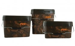 Wiadro 5l FOX Camo Square Buckets