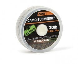 Plecionka FOX Edges Submerge Camo Leader 30lb 10m CAC703