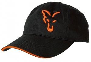 Fox Czapka FOX BLACK & ORANGE BASEBALL CAP CPR925