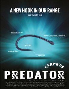 Carp'R'Us - Predator - ATS - Rozmiar 6