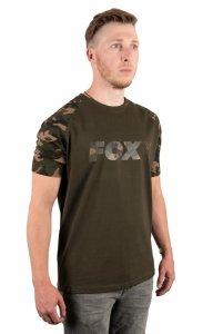 Fox CAMO/KHAKI CHEST PRINT T-SHIRT XXXL CFX018