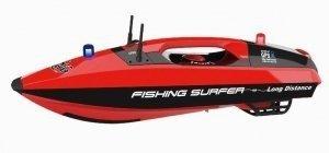 Łódka zanętowa Fishing Surfer GPS 2.4GHz - czerwona