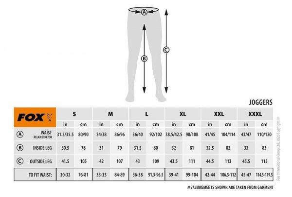 Fox Spodnie KHAKI/CAMO JOGGER S CFX079