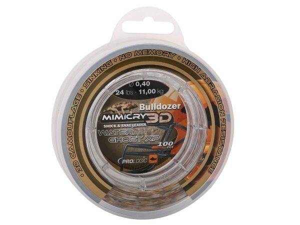 48459 BULLDOZER MIMICRY WATER GHOST XP 0,40 mm 24lbs