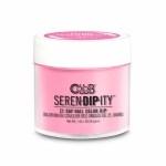 Color Club puder do tytanowego 28g - SERENDIPITY Modern Pink. n.15