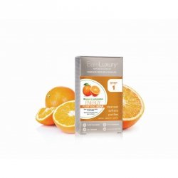 Zestaw do pedicure & manicure - Morgan Taylor Pomarańcza i Trawa Cytrynowa (1 zabieg - 4 saszetki)
