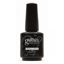 Gelish Żel w pędzelku do french kolor Biały 15 ml (01396)