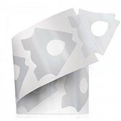 Formy, szablony do przedłużania paznokci przezroczyste 300 sztuk - ENTITY