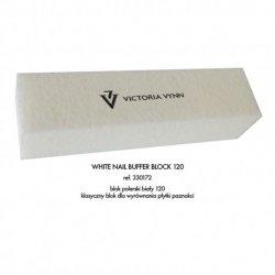 BLOK POLERSKI 120 biały - polerka Victoria Vynn