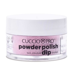 Cuccio manicure tytanowy - Barbie pink Glitter 14 G 5539