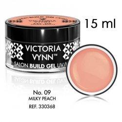 No.09 Mleczny cielisty żel budujący 15ml Victoria Vynn Milky Peach