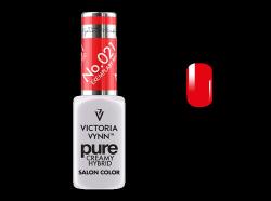 021 Exemplary Red - kremowy lakier hybrydowy Victoria Vynn PURE (8ml)