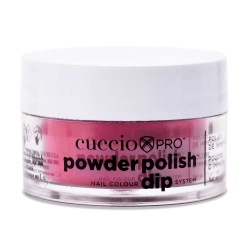 Cuccio manicure tytanowy - 5514 DIP SYTEM PUDER Passionate Pink 14 G
