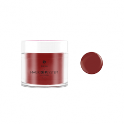 Puder do manicure tytanowy 20g - KABOS Dip 34 True Red
