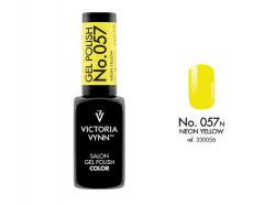 057 Neon Yellow Lakier Hybrydowy Victoria Vynn Gel Polish