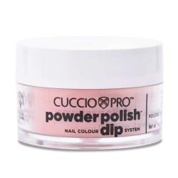 Puder do manicure tytanowy - Cuccio dip 14G -Dusty Rose (5603)