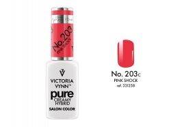 PURE Lakier hybrydowy Pink Shock 8ml (203) VICTORIA VYNN