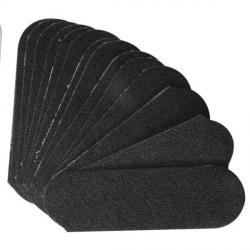 Wkłady do tarki do stóp  Cuccio 50 szt - Czarne - Gradacja 80