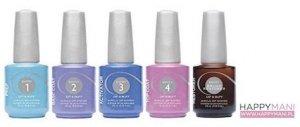 Manicure tytanowy zestaw kroki 1 - 5 - Entity Dip