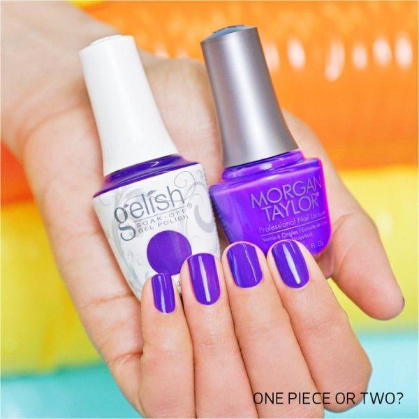 Lakier hybrydowy kolor: One Piece Or Two? 15 ml (1110301) - kremowy - GELISH