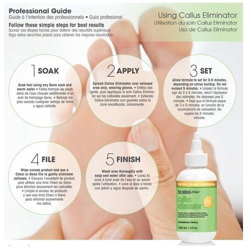 Preparat do usuwania zrogowaciałej skóry Prolinc Callus - 120ml