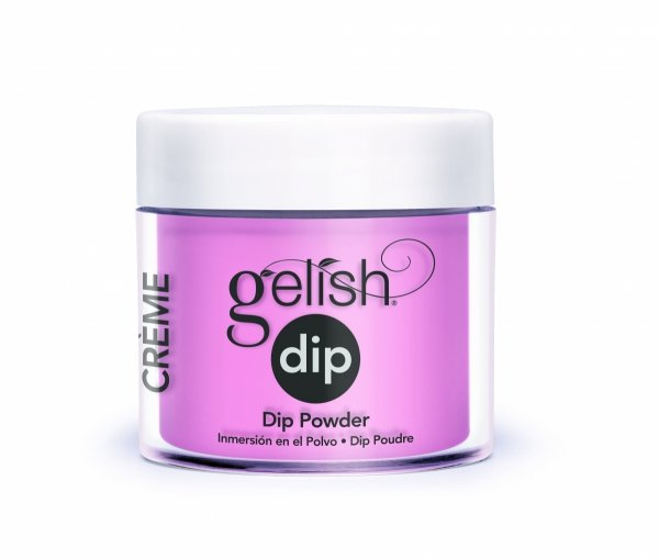 Puder do manicure tytanowy - GELISH DIP -  Look At You Pink-Achu! 23 g - (1610178)