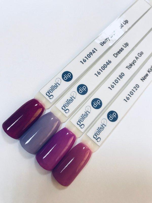 Puder do manicure tytanowego kolor Tokyo á Go Go DIP 23 g GELISH (1610180)