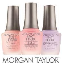 Baza i odżywka nabłyszczająca Morgan Taylor ReactMax Original 15ml - do lakierów klasycznych