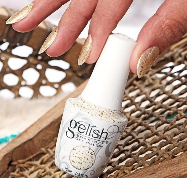 GELISH Ice Cold Gold (1110285) Thrill Of The Chill - lakier hybrydowy 15ml