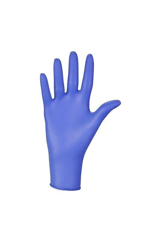 Rekawiczki nitrylowe niebieskie