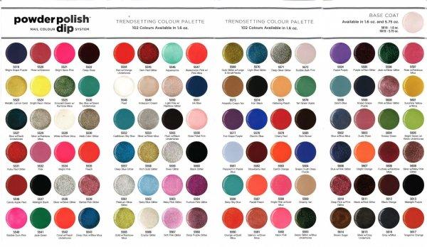 Puder do manicure tytanowy - Cuccio DIP - Bright Pink  14G (5534)