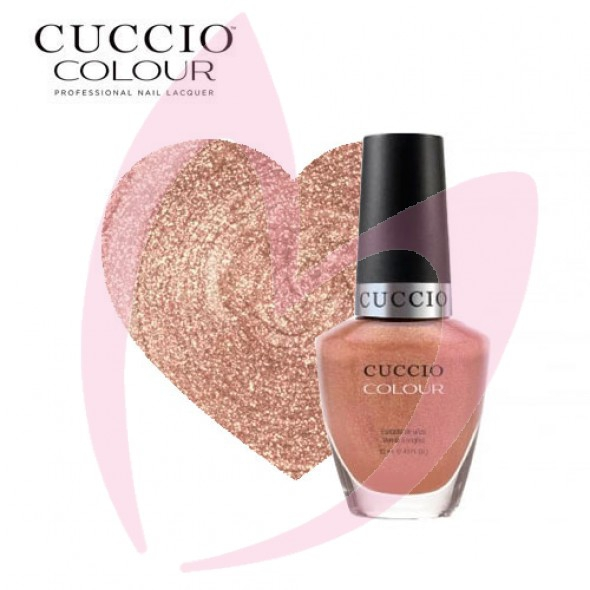 Cuccio 1207 Lakier do paznokci 13 ml ROSE GOLD SLIPER
