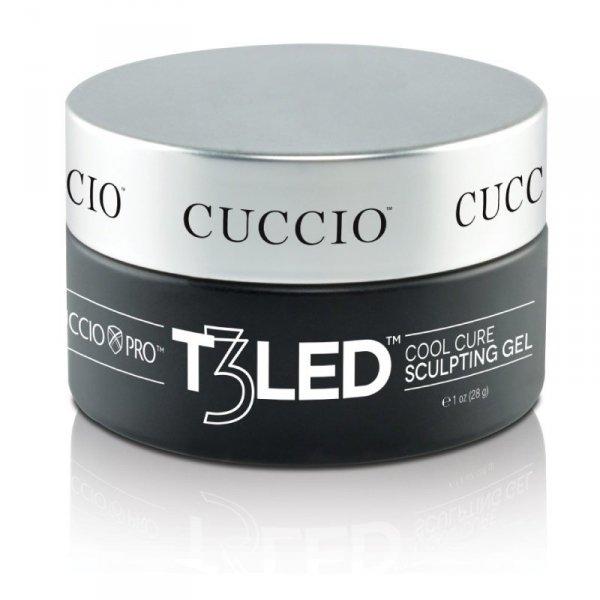 Samopoziomujący żel do budowania paznokcia - bezbarwny 28 g CUCCIO PRO T3 LED/UV