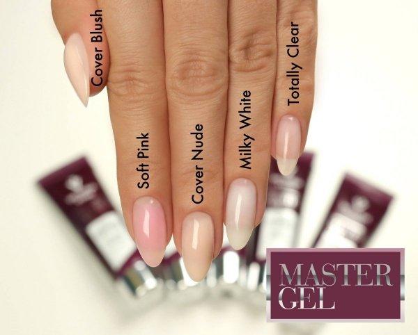 MASTER GEL 01 kolor: Totally Clear 60 g - przezroczysty -  Victoria Vynn - Master żel