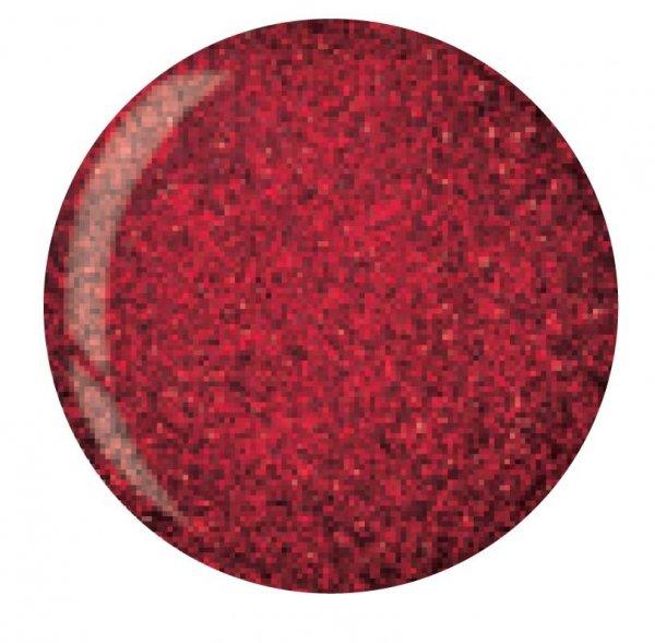 Puder do manicure tytanowy - Cuccio dio 14G - Dark Red Glitter (5545) 14 G
